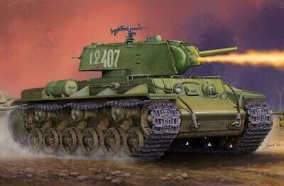 Trumpeter 1/35th Scale Russian KV-8S Welded Turret Plastic Model Kit. • 27.99£