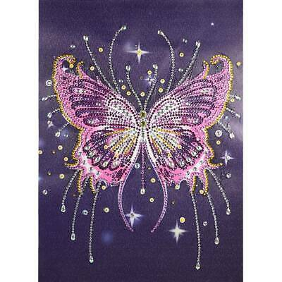 AU19.18 • Buy Full Drill Diamond Painting DIY Embroidery Butterfly Cross Stitch Art Craft Kits