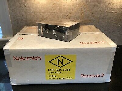 $749.99 • Buy NOS New Open Box Nakamichi 3 Receiver Manual Remote New Nakamichi Headphones