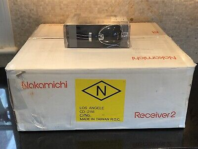 $749.99 • Buy New NOS Open Box NAKAMICHI Receiver 2 Remote Manual & New Nakamichi Headphones