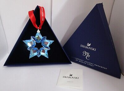 Swarovski Christmas Star Mariah Carey 25th Anniversary Holiday BNIB. + Gift Bag • 34.99£