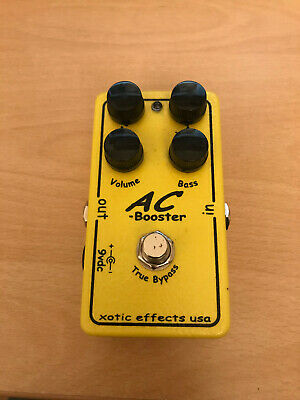 Xotic AC Booster Overdrive Distortion Boost Electric Guitar Pedal • 139.99£