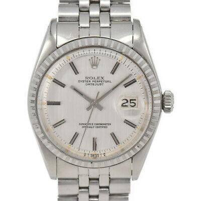 $ CDN4786.79 • Buy ROLEX DATEJUST 1603 Silver Dial Cal.1570 Automatic Men's Watch H#97693
