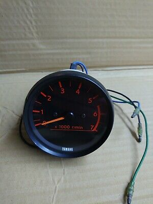 AU114.22 • Buy Yamaha Outboard Tachometer RPM Gauge 2 And 4 Stroke No Rear Bracket All HP