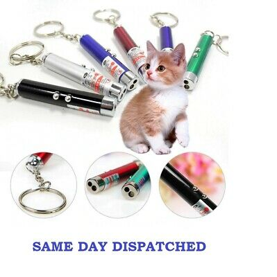 £2.85 • Buy Laser-teaser Pen Cat Kitten Puppy Fun Exercise Play Toy Projecting Flash Pointer