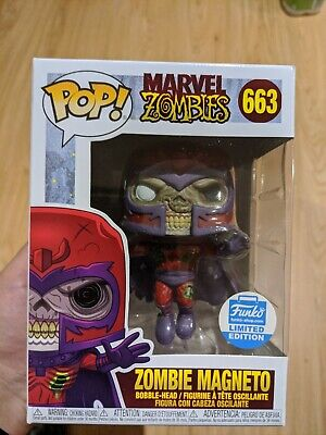 Marvel Zombies Zombie Magneto 663 Funko Shop Exclusive Limited Edition Pop Vinyl • 28£