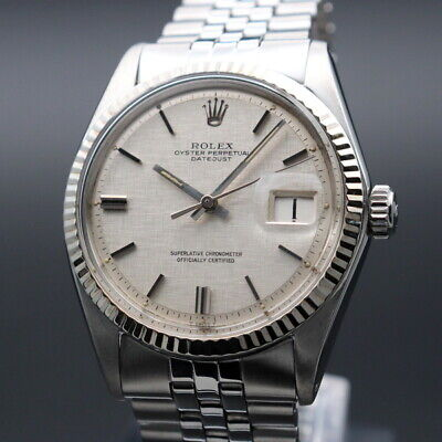 $ CDN8064.95 • Buy Rolex Oyster Perpetual Datejust Ref.1601 Vintage Overhaul Automatic Mens Watch