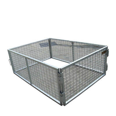 AU299 • Buy 6x4x3ft Trailer Galvanised Cage 1800x1240x900mm (Super Special Of The Month)
