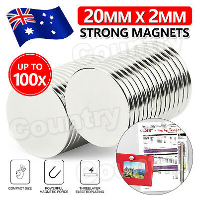 AU8.95 • Buy 5-100pcs N50 Super Strong Magnet Round Disc Magnets Rare-Earth Neodymium Magnet