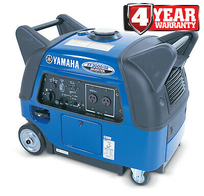 AU4395 • Buy Yamaha Generator Inverter Petrol Yamaha 3Kva Electric Start - Ef3000Ise