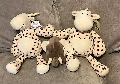 £9.99 • Buy ELLI AND RAFF SUPERSOFT, CUDDLY BEAN TOY  SUITABLE FROM BIRTH -NEW With Tags