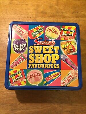 Swizzels Sweet Shop Favourites Tin ~ Empty ~ Collectable • 7.99£