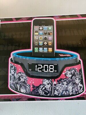 AU25.46 • Buy Monster High Alarm Clock Radio IPhone IPod Dock NEW