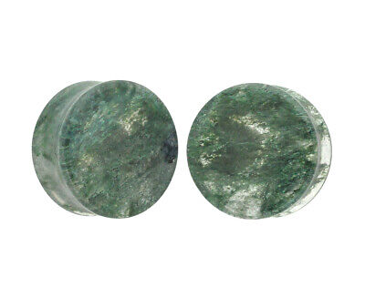 $8.39 • Buy Moss Glass Double Flare Plugs (PG-560) Gauges PICK YOUR SIZE