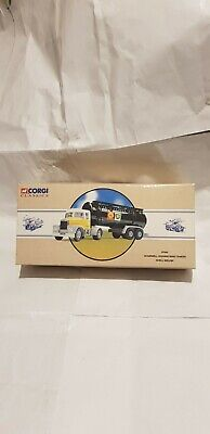 Corgi Scammell Highway Man Shell Tanker Mex/bp Scale 1.50 In Good Condition • 25£