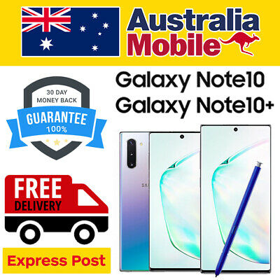 AU669 • Buy Samsung Galaxy Note10 Note10 PLUS 5G LIMITED EDITION N971 N976 AS NEW EXCELLENT