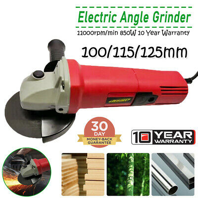 850W Angle Grinder Electric Stone/Metal/Wood Cutter Sander Polisher 110/115/125 • 18.60£