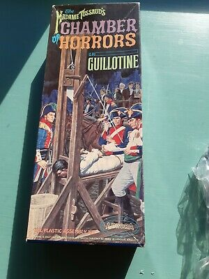 Aurora  Guillotine  Madame  Tussauds  First Edition 1964  Kit  Box Only  • 70£