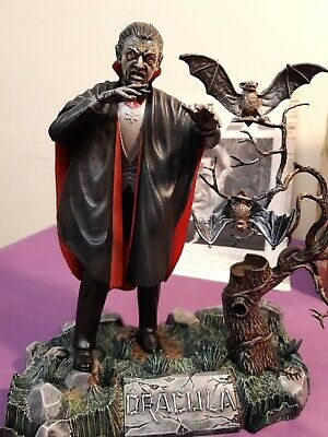 Aurora  Dracula  Model Kit Box And Instructions Glow In The Dark Stamped 1962 On • 150£