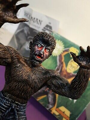 Glow In The  Dark  Wolfman Model Kit  Aurora  Box And Instructions • 150£