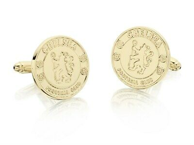 £19.99 • Buy Chelsea FC Mens Accessory Gold Plated Cufflinks