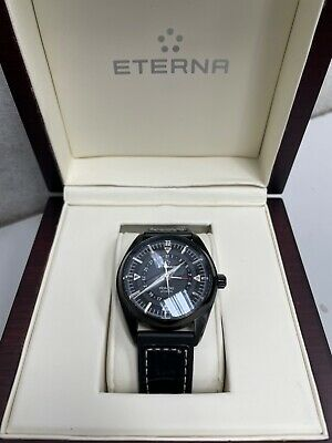 £550 • Buy ETERNA KONTIKI WATCH - AUTOMATIC,SWISS MADE,42MM CASE - With Case,Paperwork