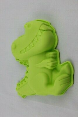 Dinosaur Dino 3D Shape Silicone Mould 17x15x3.2 Cm Cake Baking Jelly Resin Clay  • 8.95£