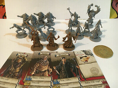 AU45.95 • Buy Zombicide. Huntsman Pack Mini Booster, 3 Characters, Zombies, First Player Coin.