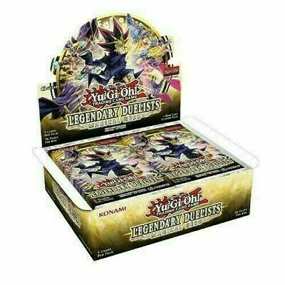 YuGiOh! Legendary Duelists Magical Hero Booster Box - 36 Packs - Fully Sealed! • 89.90£