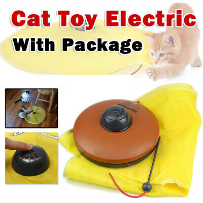 AU20.85 • Buy Electronic Interactive Cats Cat's Meow Toys Undercover Fabric Moving Mouse AU
