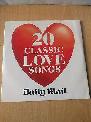 Daily Mail CD - 20 Classic Love Songs • 1£