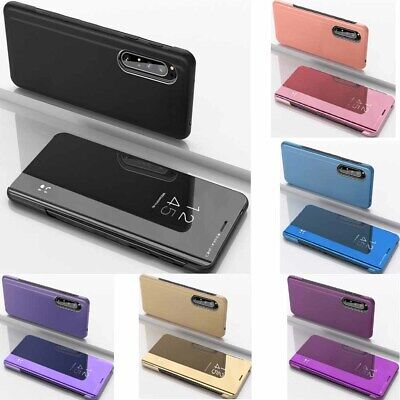 AU9.90 • Buy For Sony Xperia 1 Ii 5 10 Plus XZ3 Mirror Leather Stand Smart Flip Case Cover