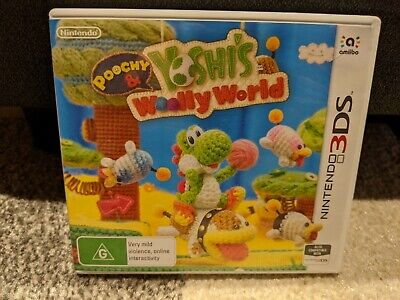AU49 • Buy Poochy & Yoshi's Woolly World Nintendo 3DS + 2DS PAL Australian Version