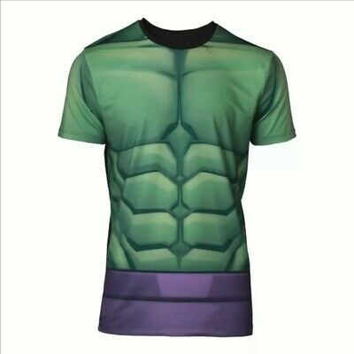 Mens Marvel Comics Incredible Hulk Sublimation T-shirt Small (ts668121mvl-s) • 14.99£