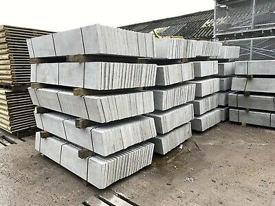 £13.20 • Buy New ~ 6x1 Reinforced Plain/ Smooth Concrete Gravel Boards/ Base Panels