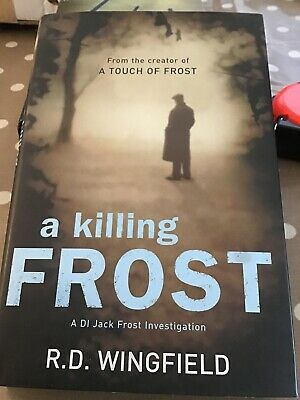 A Killing Frost By RD Wingfield Hardback Book • 3£