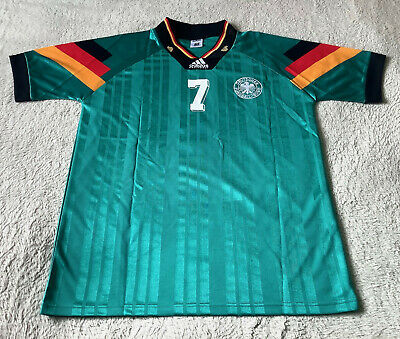 Germany 1992/1994 Adidas Away Jersey Andreas Moller 7 Size XL • 49.99£