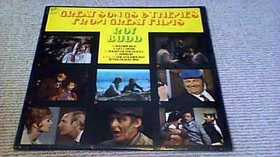 ROY BUDD GREAT SONGS THEMES 1st PYE UK LP 1971 Get Carter Soldier Blue Zeppelin • 49.99£