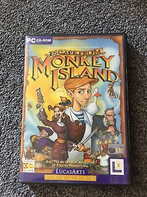Escape From Monkey Island Pc Game • 7.40£