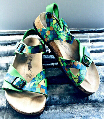Birkenstock Papillio Leather Footbed Sandals Size EU 37 - EXC • 19.99£