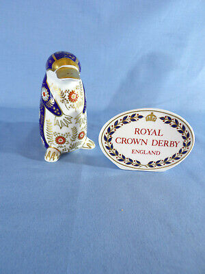 Royal Crown Derby Duck Billed Platypus Paperweight Silver Stopper 2nd Quality • 45£