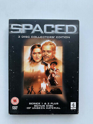 Spaced (DVD) - Collector's Edition! A Must Have For Any Simon Pegg Comedy Fan!!! • 1.29£