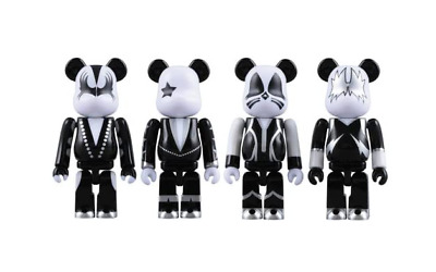 $124.99 • Buy KISS Rock Star 100% Bearbrick Be@rbrick Medicom Toy 2008 Japan Rare Limited Band