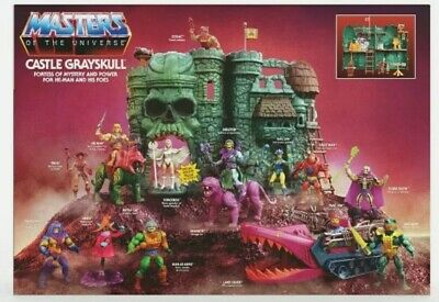 $189.99 • Buy Masters Of The Universe Castle Grayskull & Sorceress PREORDER Walmart Exclusive.