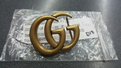 AU299 • Buy Gucci Gold Double GG Buckle