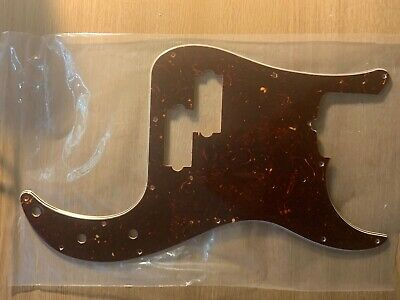 Fender Precision Bass Pickguard USA Tortoise Shell 4 Ply. • 24£