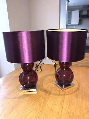 Next Home Pair Of Bedside Lamps • 6£