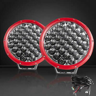 AU199.99 • Buy PAIR 9INCH CREE LED Driving Lights Spot Lights Offroad REPLACE HID Lights + Wire