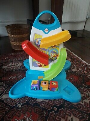 Fisher Price Baby Toy Roller Block Play Wall Musical Educational Toy • 10£