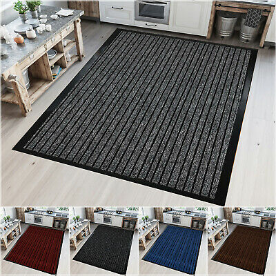 Heavy Duty Extra Large Area Rug Rubber Backed Runner Mats Soft Kitchen Floor Mat • 13.99£